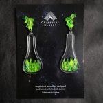 Acid Flask Statement Earrings
