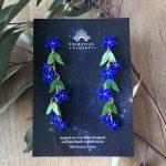 Royal Bluebell Charm Drop Earrings