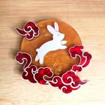 Jade Rabbit and the Harvest Moon Brooch
